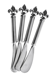 Fleur de Lis Spreaders, Set of 4   -
