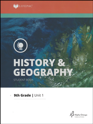 Lifepac History & Geography Grade 9 Unit 1: The Heritage of the  United States  -