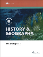 Lifepac History & Geography Grade 10 Unit 1: Ancient Civilizations I  -