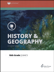 Lifepac History & Geography Grade 10 Unit 5: Growth of World Empires  -