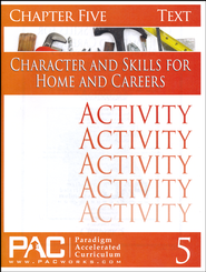 Industrial Skills Activities Booklet, Chapter 5   -