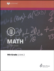 Lifepac Math Grade 9 Unit 2: Solving Equations   -