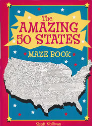 The Amazing 50 States Maze Book  -     By: Scott Sullivan