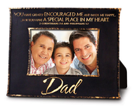 Dad, You Encouraged Me Photo Frame  -