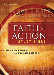 NIV Faith in Action Study Bible: Living God's Word in a Changing World - eBook  -