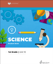 Lifepac Science Grade 1 Unit 10: Wonderful World of Science    -