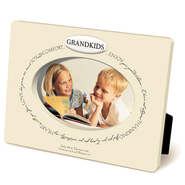 Grandkids Oval Photo Frame   -