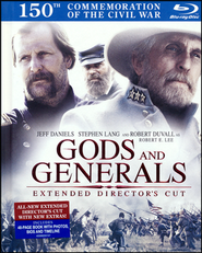 Gods and Generals Blu-Ray Book   -