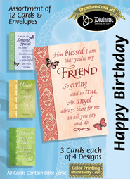How Blessed I am Birthday Cards, Box of 12  -