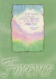 Forever Friendship Cards, Box of 12  -