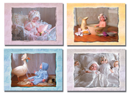 Photographed Baby Assortment Cards, Box of 12  -