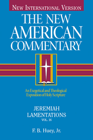 Jeremiah: New American Commentary [NAC] -eBook  -     By: F.B. Huey