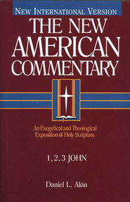 1,2,3 John: New American Commentary [NAC] -eBook  -     By: Daniel L. Akin