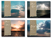 Skies Sympathy Cards, Box of 12  -
