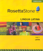 Rosetta Stone Latin Level 1 with Audio Companion Homeschool Edition, Version 3  -