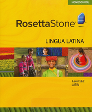 Rosetta Stone Latin Level 1 & 2 Set with Audio Companion Homeschool Edition, Version 3  -