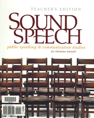 BJU Sound Speech: Public Speaking & Communication Studies, Teacher's Edition  -