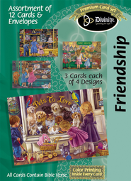 Pets to Love Friendship Cards, Box of 12  -