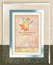 May Angels Guard You, Amazing Grace, Musical Framed Sentiment  -