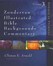Zondervan Illustrated Bible Backgrounds Commentary: Romans to Philemon - Slightly Imperfect  -