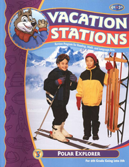 BJU Vacation Stations Book 5: Polar Explorer Grades 4-5   -