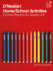 D'Nealian Home/School Activities: Cursive, Grades 4 to 6   -     By: Barbara Gregorich