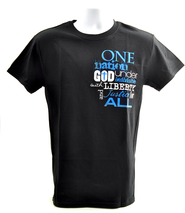 One Nation Shirt, Black, Large  -