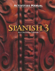 BJU Spanish 3, Student Activities Manual    -