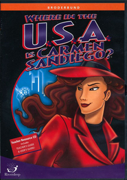 Where in the USA is Carmen Sandiego? School Version CD-ROM   -