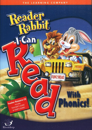 Reader Rabbit I Can Read with Phonics! CD-ROMs   -