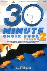 The 30-Minute Choir Book, Volume 2   -