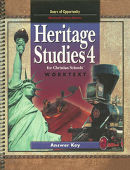 BJU Heritage Studies Grade 4 Worktext, Teacher's Edition   -