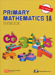 Singapore Math: Primary Math Textbook 1A US Edition   -
