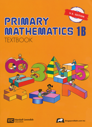 Singapore Math: Primary Math Textbook 1B US Edition   -