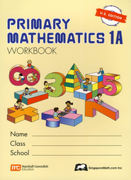 Singapore Math: Primary Math Workbook 1A US Edition   -