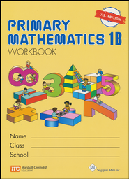 Singapore Math: Primary Math Workbook 1B US Edition   -