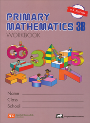 Singapore Math: Primary Math Workbook 3B US Edition   -