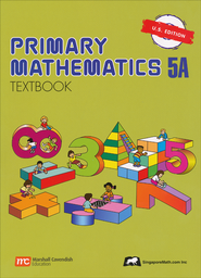 Singapore Math: Primary Math Textbook 5A US Edition   -