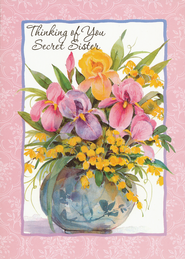 Secret Sister Greeting Cards, Box of 12  -