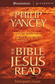 The Bible Jesus Read, Participant's Guide  - Slightly Imperfect  -