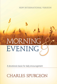 Morning and Evening NIV Edition - eBook  -     By: Charles H. Spurgeon