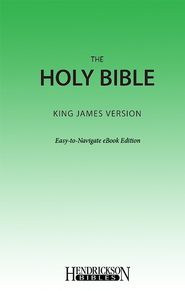 KJV Easy Navigate eBook - eBook  -