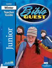 Bible Quest Junior (Grades 5-6) Teacher Guide   -