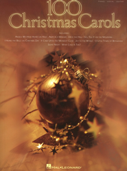100 Christmas Carols: Piano/Vocal/Guitar Songbook   -