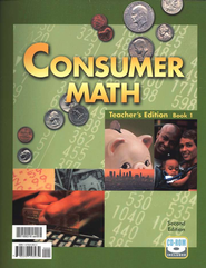 BJU Consumer Math, Teacher's Edition (Second Edition)    -