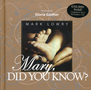 Mary, Did You Know? Book and CD  - Slightly Imperfect  -