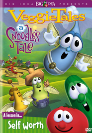 A Snoodle's Tale: A Lesson in Self-Worth, VeggieTales DVD   -
