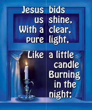 Jesus Bids Us Shine Song Visuals (2s/3s - Primary)   -