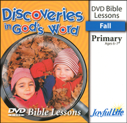 Discoveries in God's Word Primary (Grades 1-2) Bible Lesson DVD  -