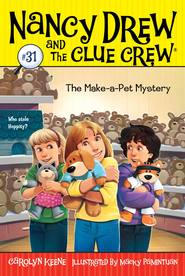 The Make-a-Pet Mystery - eBook  -     By: Carolyn Keene     Illustrated By: Macky Pamintuan